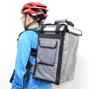 PK-33AG: Beverage delivery backpack, hamburger delivery carriers, keep hot, Top Loading